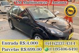 Título do anúncio: FIESTA SEDAN 1.0 , ENTRADA + PARCELAS R$ 699,00
