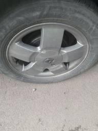 Vendo roda 14 liga leve  sem pneus