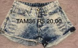 Lote 6 shorts 1 saia