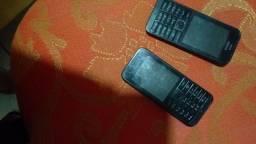 2.celular nokia.funcionando perfeitamente quero só 70 .00.reais nos dois