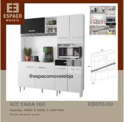 Título do anúncio: Armário de Cozinha Yara 160 #Entrega e Montagem Grátis