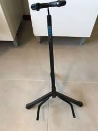 Pedestal para violão, guitarra ou baixo