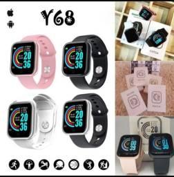 Relógio Smart Y68. Descontaço