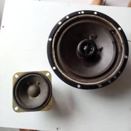 """Alto Falantes: Waxon 2 way speaker 120w 4 OHM, 6 1/2"""" + Samsung 3W 4  Ohm"""