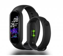 M5 Smart Watch Esportivo Com Tela Colorida / Pulseira Smart Esportivo Com Monitor