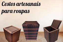 Cestos artesanais
