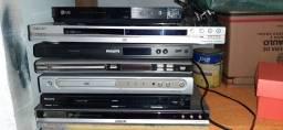 Título do anúncio: Vários DVDs  várias marcas  todos funcionando