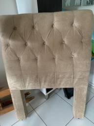 Vendo cabeceira acolchoada para cama de solteiro