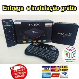 TV BOX MAIS TECLADO