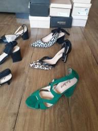 Vendo  estoque de sapatos de Couro Andine n° 35 abaixo do preço e custo