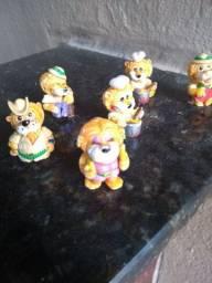 Personagem colecionáveis Kinder ovo