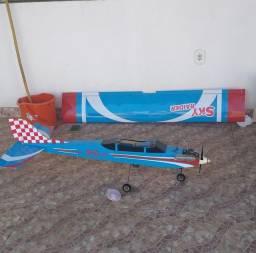 Título do anúncio: Aeromodelo treinador ótimo pra iniciar no hobby
