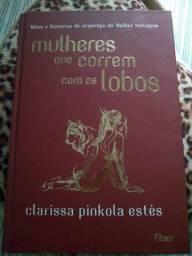 Livro Mulheres que correm com os lobos capa dura