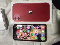 Título do anúncio: IPhone 11 vermelho
