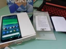 """Título do anúncio:  Nokia 2.3 Dual Chip Tela 6.2"""" 32GB 4G Câmera 13MP +2MP - Verde Ciano"""