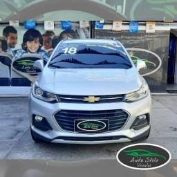 Chevrolet Tracker Premier+Prata+61.627km +2018+Automático+Flex +Completo