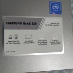 Notebook E 20 1 mês de comprado