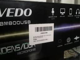 Microfone condensador USB bm800 Vedo com braço articulado