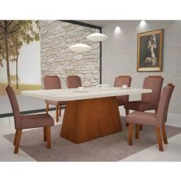 Conjunto de Mesa 6 Cadeiras