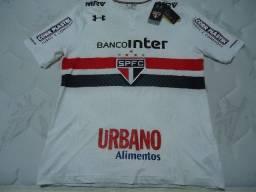 Título do anúncio: Under Armour - Camisa Do São Paulo - Tam Gg - Zerada na Etiqueta - Versão Jogador