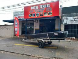 Título do anúncio: Capa de canoa motores , capotas e tendas