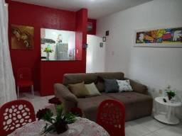 Apartamento Mobiliado de Quarto e Sala com Área de Serviço no Abaeté em Itapuã
