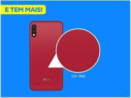 Smartphone LG K22 Red 4G Quad-Core 2GB RAM - Tela 6,2? Câm. Dupla + Selfie 5MP Dual Chip<br><br>