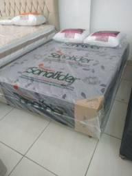 Título do anúncio: Cama box acoplada casal padrão 138x45