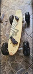 Título do anúncio: Skate de motor elétrico troco por celular