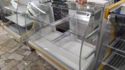 Balcao vitrine  seco gelopar 1,18 semi novo  R$1.300,00