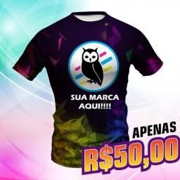 Título do anúncio: Camisa Personalizada Estampa Total