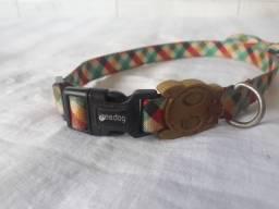 Título do anúncio: Coleira zeedog com gravata Tamanho M