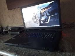 Notebook Gamer Avell clevo i7 4900 3.8ghz, SLI gtx 980m 16GB ddr5, tela 120hz 17,3''