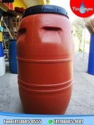 Bombona 200 litros com tampa rosqueada (41)3605-0555 (41)9 8405-1081