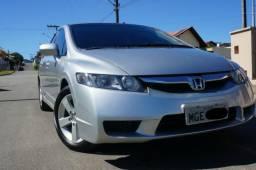 Honda Civic LXS 2009 1.8 Mec. - Único Dono - 32695 - FIPE - 2009