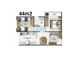 Apartamento à venda com 2 dormitórios em Dona zulmira, Uberlândia cod:24157