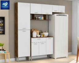Cozinha com Balcão - 9 Portas e 1 Gaveta #FreteGRÁTIS* #Garantia #Novo