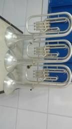 Interessados si chamar.qeto compra dois trompetes.tbm trovo rlrs em 2 trompetes sib.