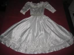 Vestido daminha ou 1ª Comunhão