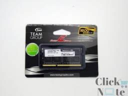 Memoria Notebook Ddr3 8gb Pc3l-12800 1600mhz 1.35v Team Elite Lacrada com Garantia