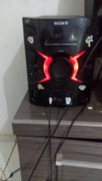 Vendo som Sony pega pendrive e cd