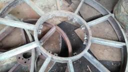 Rodas trator pulverização
