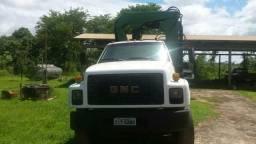 Caminhão Munck GMC 16220 de 20 toneladas e guincho de 10 toneladas - 1997