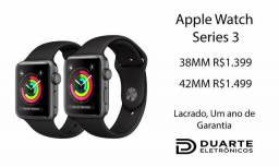 Apple Watch Series 3 - Lacrado, Um ano de garantia