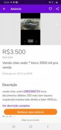 Vendo chev ou troco wats * na troca 4500 reais - 1986