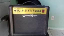 Amplificador warm música guitar