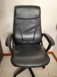 Cadeira escritório presidente a gás