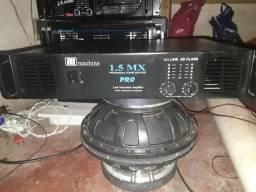 Amplificador de potências de som mecânico Machine 1.5