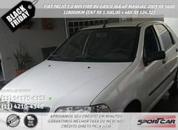 Fiat Palio 1.0 Mpi Fire 8v Gasolina 4p Manual 2003 R$ 5600 128000KM Branco - 2003
