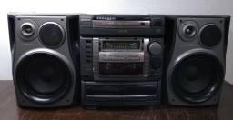 Micro System Aiwa NSX F9 No ESTADO